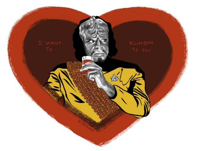 For Every Valentineu0027s Day Since 2011 I Have Made A Different Star Trek  Valentine. All Are Available As Prints And Merchandise At Society 6.