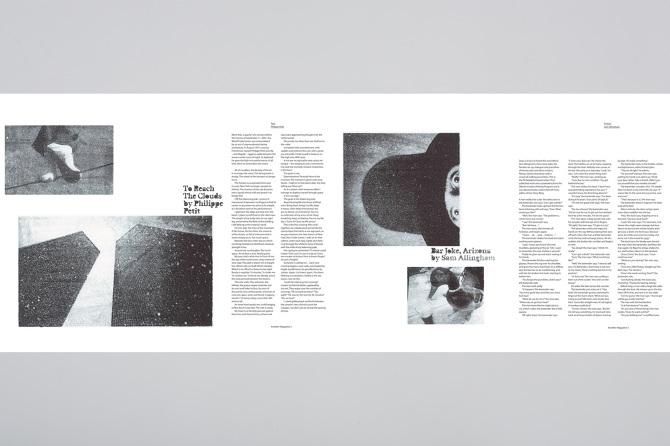 Another Magazine Editorial Design - P Dalton Creative