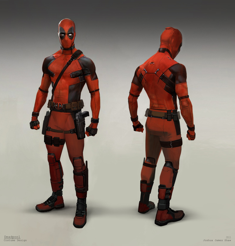 Concept Art For DEADPOOL From Joshua James Shaw Is Dead On