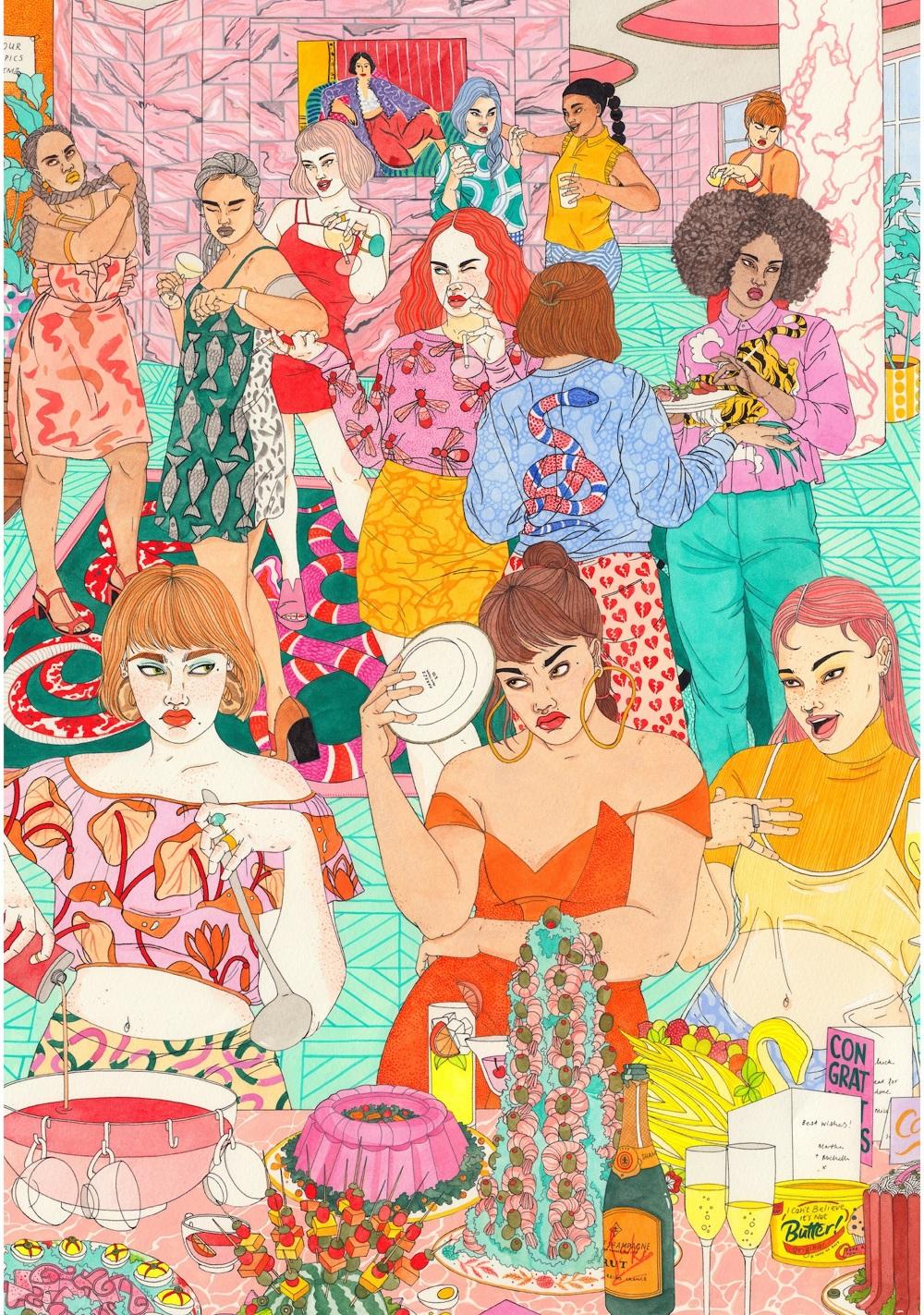 Aspirational Laura Callaghan Illustration